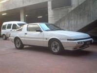 Mitsubishi Starion 2,6 turbo Essence 1987 195'000 argent 4000 EUR