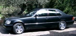 Mercedes 600 S 600 Essence 1991 98500 noir 9999 EUR